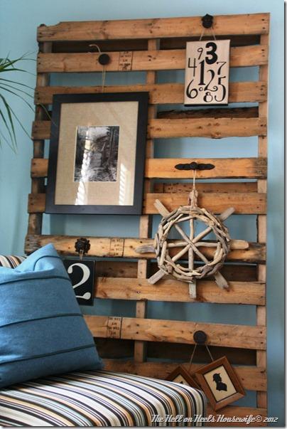 kreative ideen paletten im haus und garten zu verwenden. Black Bedroom Furniture Sets. Home Design Ideas