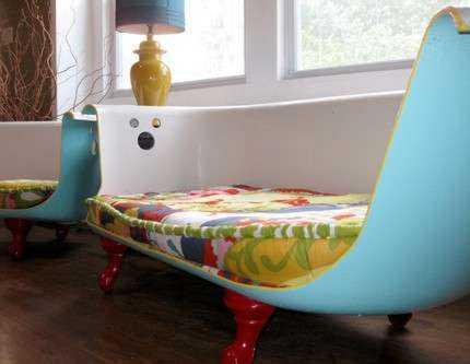 alte guss badewanne wird sofa blog an na haus und. Black Bedroom Furniture Sets. Home Design Ideas