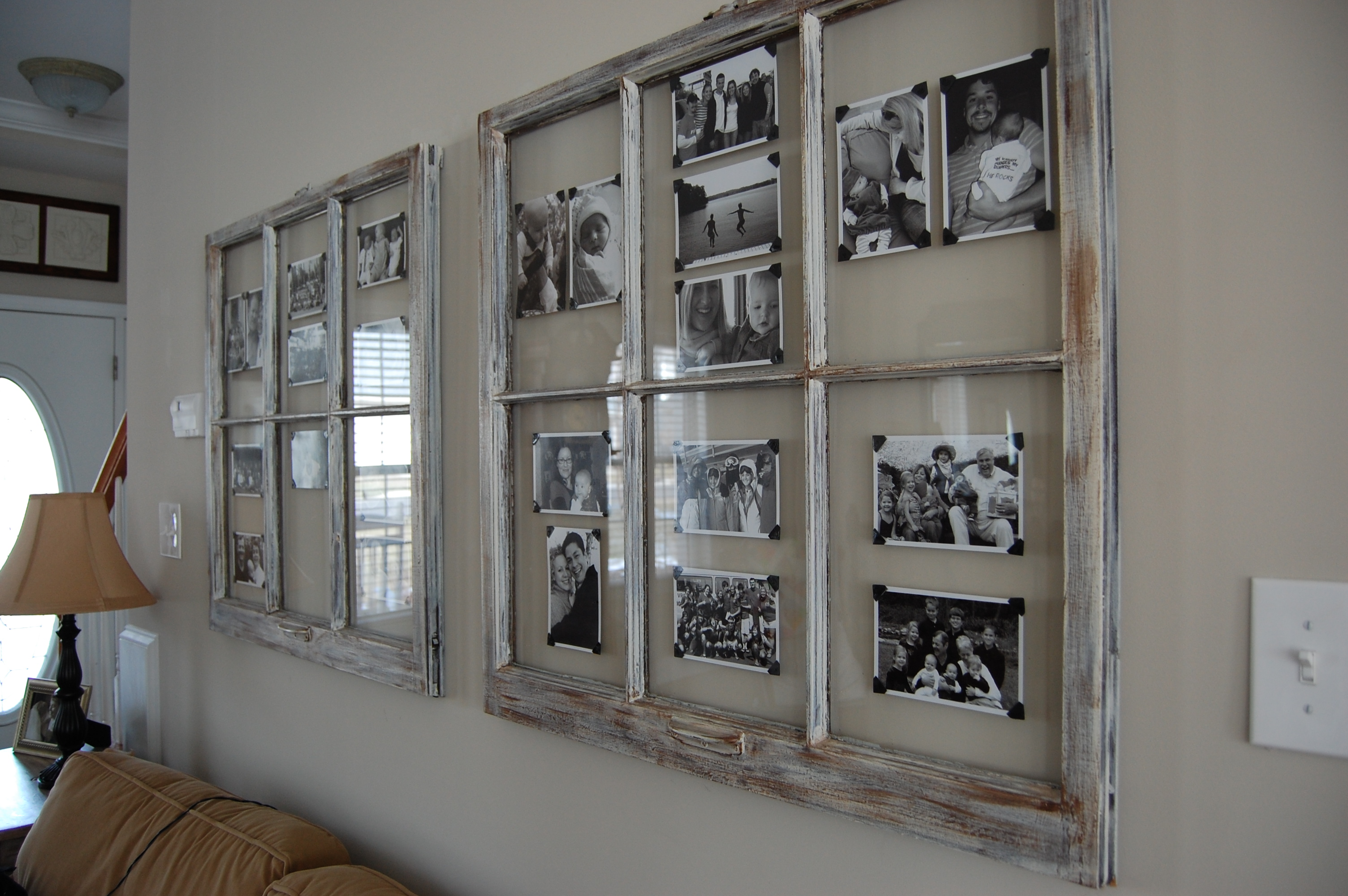 Fenster als bilderrahmen