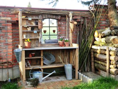 10 pflanztisch – ideen für den frühling, Garten und Bauen