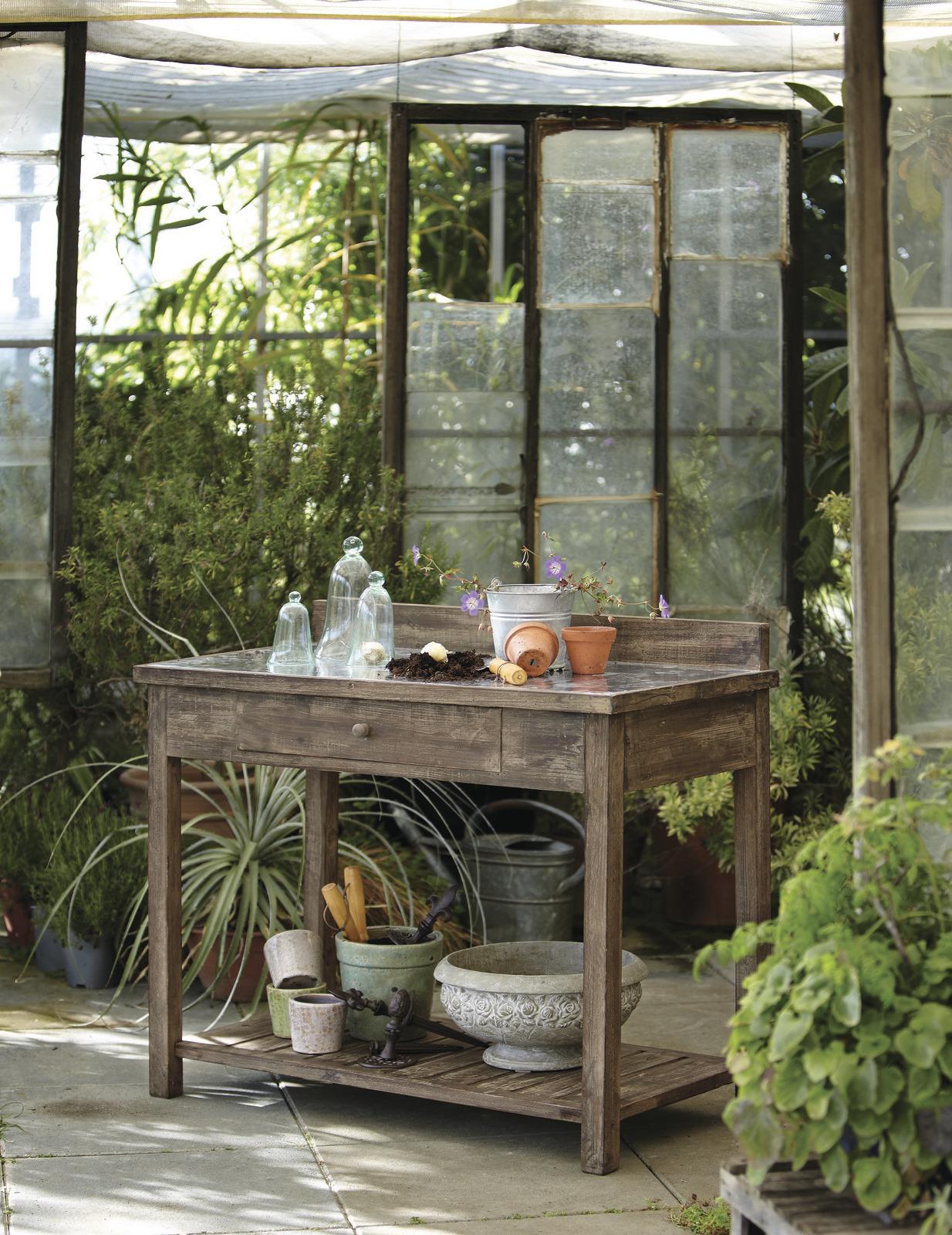 10 Pflanztisch ? Ideen Für Den Frühling Pflanztisch Fur Den Garten Ideen Selbermachen