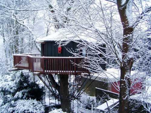 Das Baumhaus, ein Spielplatz der Fantasie.