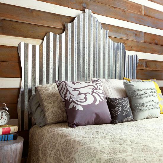 10 Ideen für Holz - Bettkopfteile