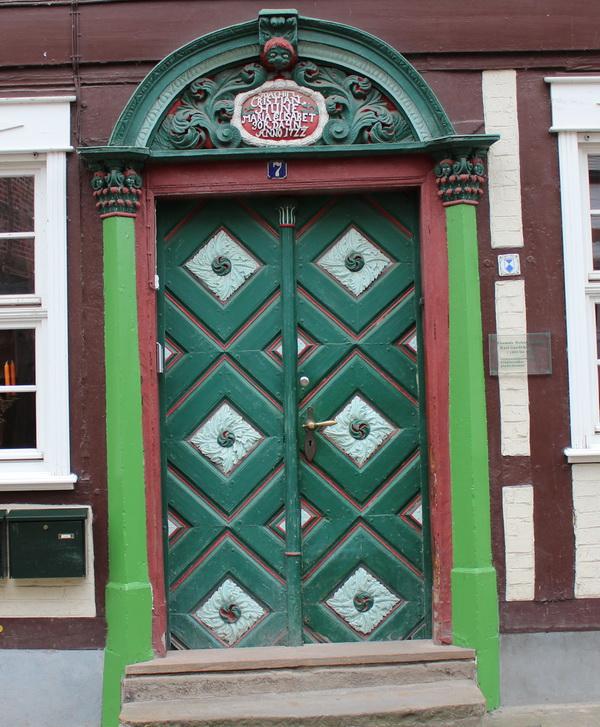 HaustUren Holz Denkmalschutz ~ Ehemals Wohnhaus von Karl Gaedecke (1852 – 1927) Gymnasialprofessor