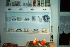 Wandregal küche antik  Bauidee: Küche selbst gebaut.