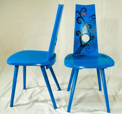 alte st hle in neuer optik blog an na haus und gartenblog. Black Bedroom Furniture Sets. Home Design Ideas