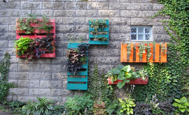 Upcycling Ideen Garten - Design