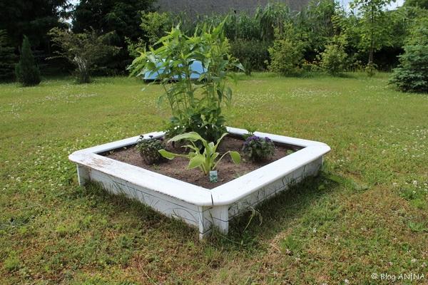 Bepflanzter Blumenkasten