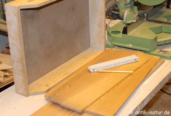 Material für Schubkasten