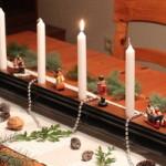 Kerzenhalter aus Handlauf