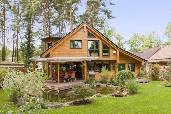Gartenhaus blog an na haus und gartenblog for Holzblockhaus modern