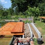 Betonauflagen für den Landbereich