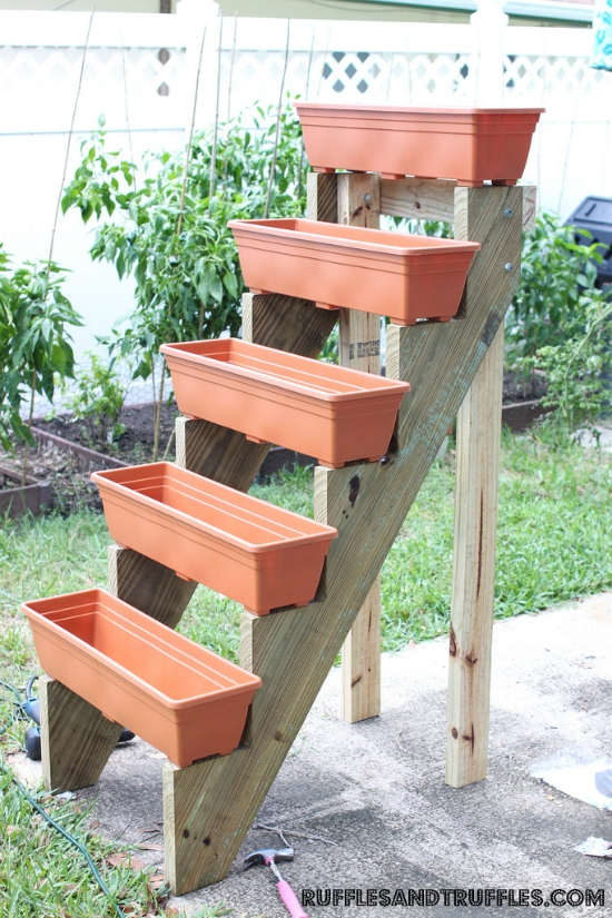 10 diy – outdoor pflanzer, Gartenarbeit ideen