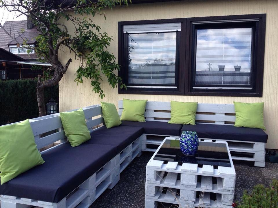 Bauidee paletten outdoor lounges blog an na haus und for Garten lounge paletten