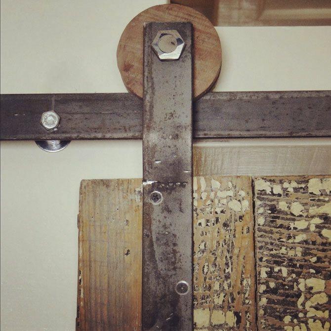 Schiebetür gartenhaus beschlag  Bauidee: Schiebetüren als Gestaltungselemente