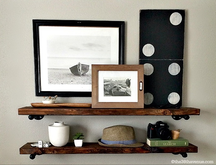 diy industrie regal blog an na haus und gartenblog. Black Bedroom Furniture Sets. Home Design Ideas
