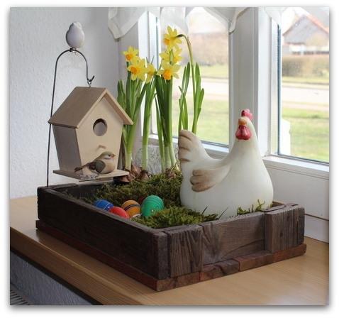 ostern dekoration fuer zu hause frhling ideen fr zuhause. Black Bedroom Furniture Sets. Home Design Ideas