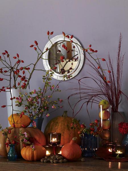 Herbstliche Innendekoration