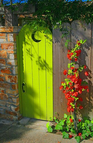 grünes Tor