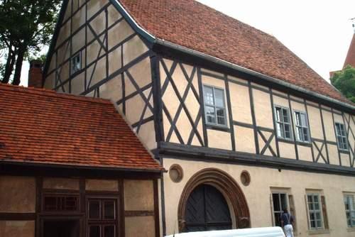 Altes, saniertes Fachwerkhaus