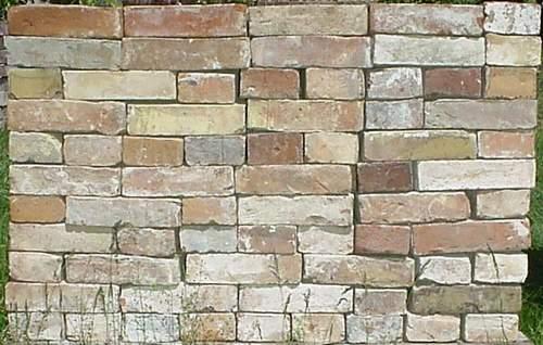 Mauerziegel im Reichsformat