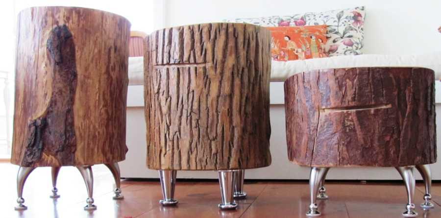 tische aus alten baumst mmen f r das wohnzimmer blog an na haus und gartenblog. Black Bedroom Furniture Sets. Home Design Ideas