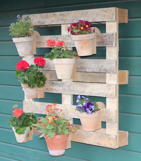 Blumenpalette