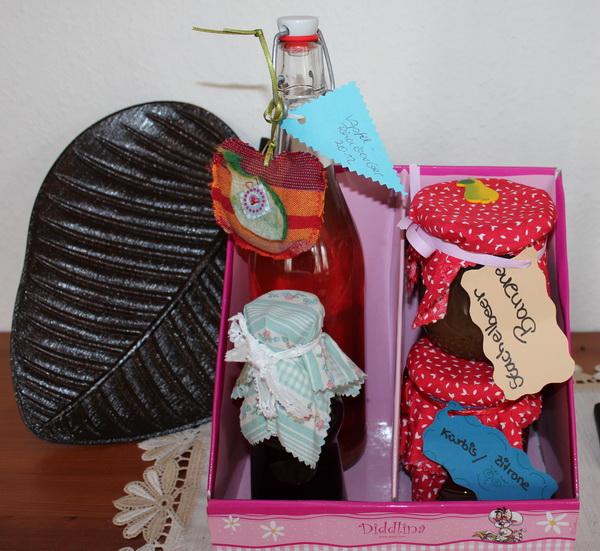 Herbstliche Geschenkbox