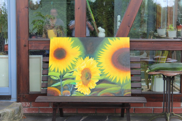 Ein Bild des Malers