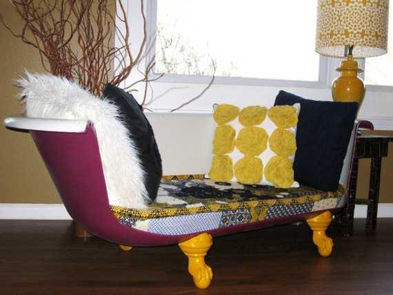 Badewannen-Sofa