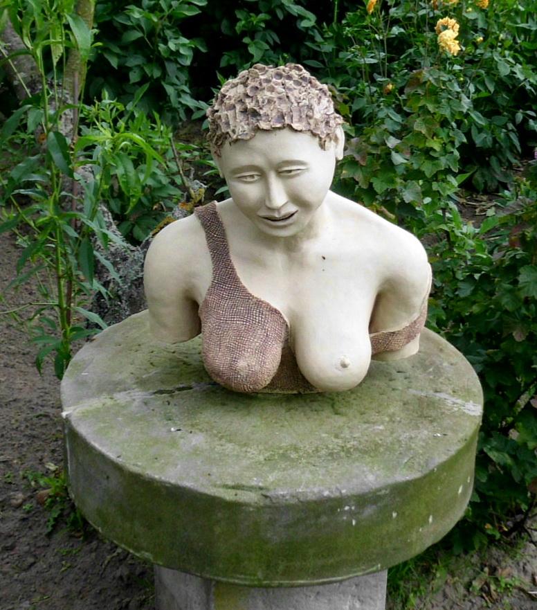 Keramik-Büste