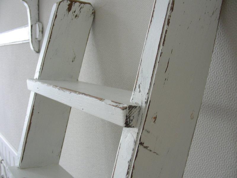 alte holzleitern dekorativ verwenden blog an na haus und gartenblog. Black Bedroom Furniture Sets. Home Design Ideas