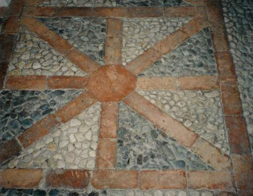 Gartenweg - Mosaik