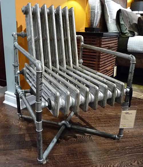 Heizkörper Sessel