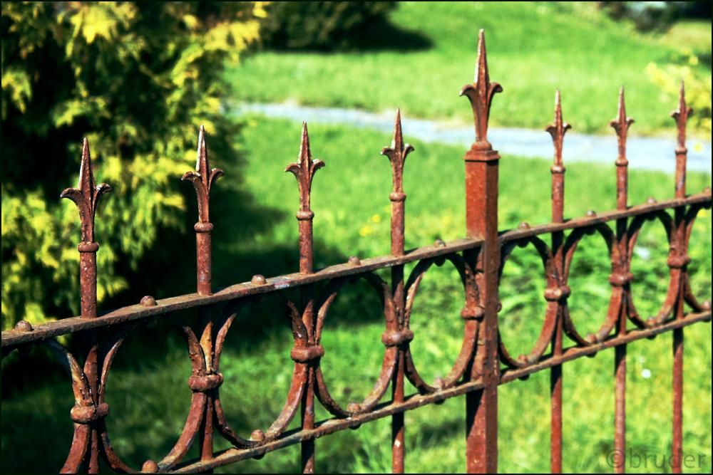Rostiger Zaun