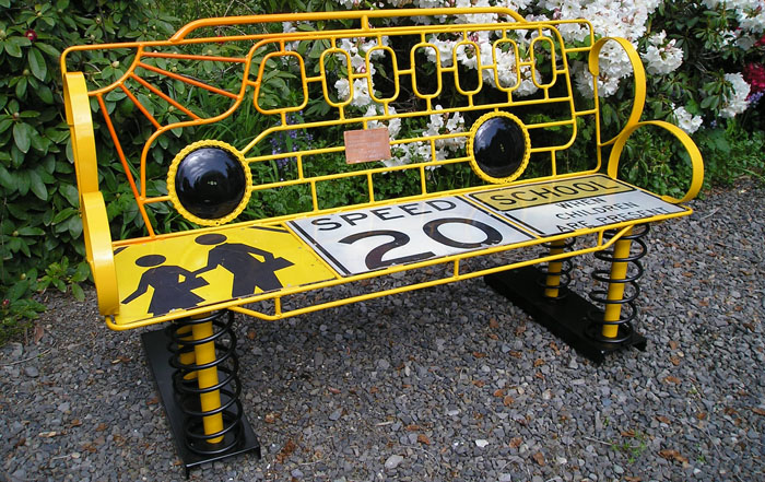 school-bus-bench