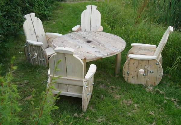 alte kabeltrommel wird garten ko m bel blog an na haus und gartenblog. Black Bedroom Furniture Sets. Home Design Ideas