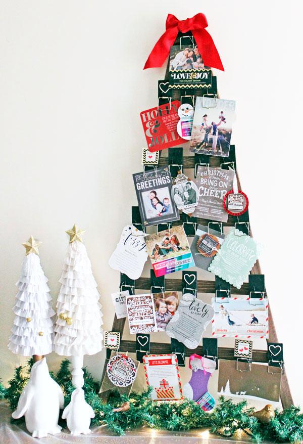 Weihnachtskartenhalter