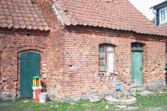 Das Backhaus vor dem Umbau
