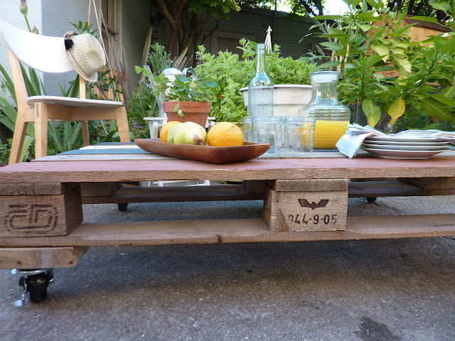 Outdoor Palettentafel