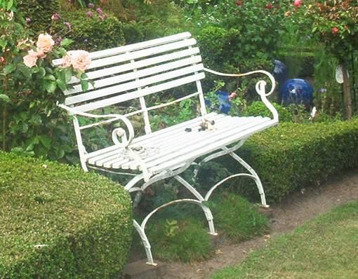Gartenbank - Sitzplatz