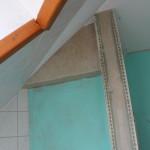 Detaillösung - Ecke über der Badewanne