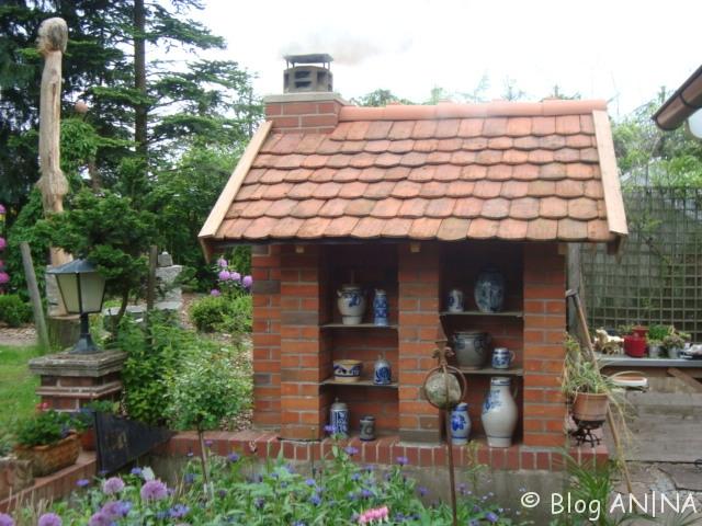 Backhaus mit alten Biberschwänzen