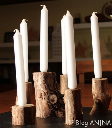 Kerzenplatte