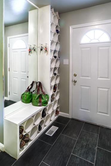 schuhregale einmal anders 6 beispiele blog an na haus und gartenblog. Black Bedroom Furniture Sets. Home Design Ideas