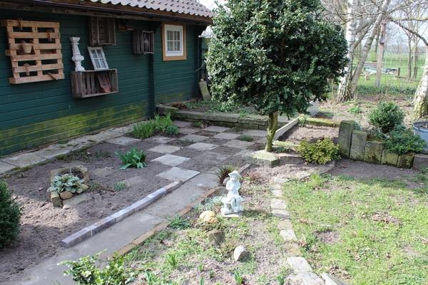 Hinterhof-Garten