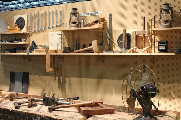 Werkstatt aus einer TV Sendung