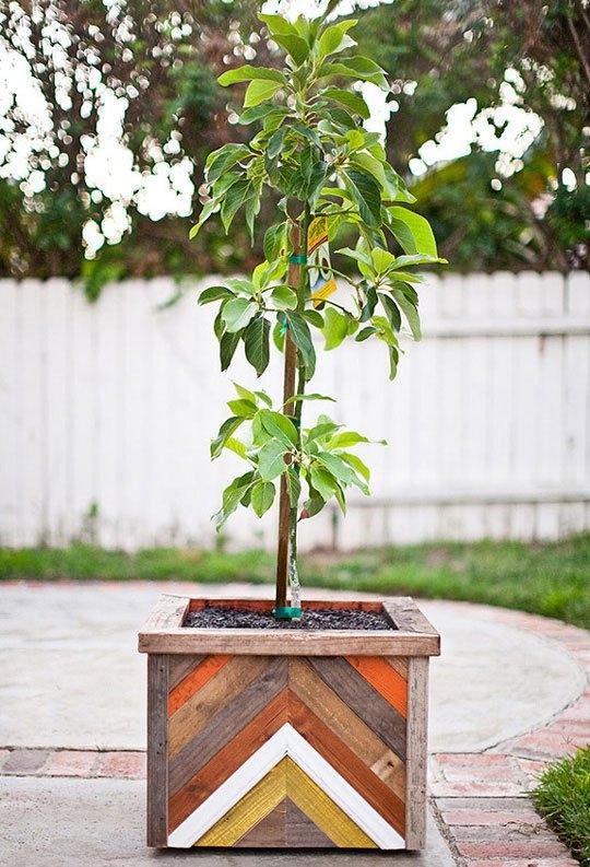 Pflanzkasten-Holz