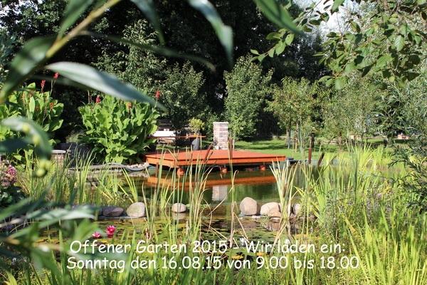 Tag des offenen Gartens
