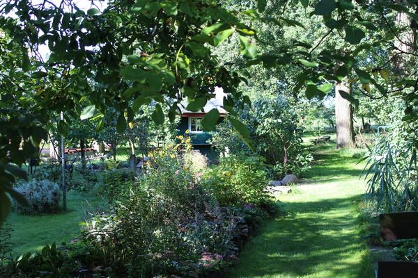 Weg in den Garten